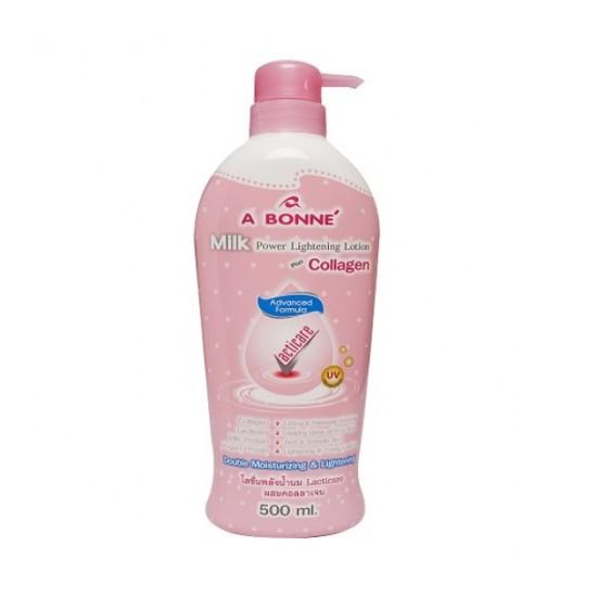 A Bonne Milk Power Lightening Body Lotion Plus Collagen - 500 ml