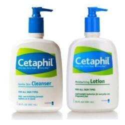 Cetaphil Gentle Skin Cleanser Plus Moisturizing Lotion
