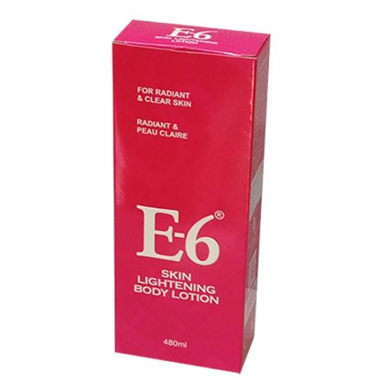 E-6 Skin Lightening Body Lotion