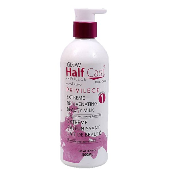 Glow half cast privilege lotion