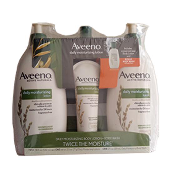 Aveeno® Active Naturals® Daily Moisturizing Lotion 18oz - 2 pk