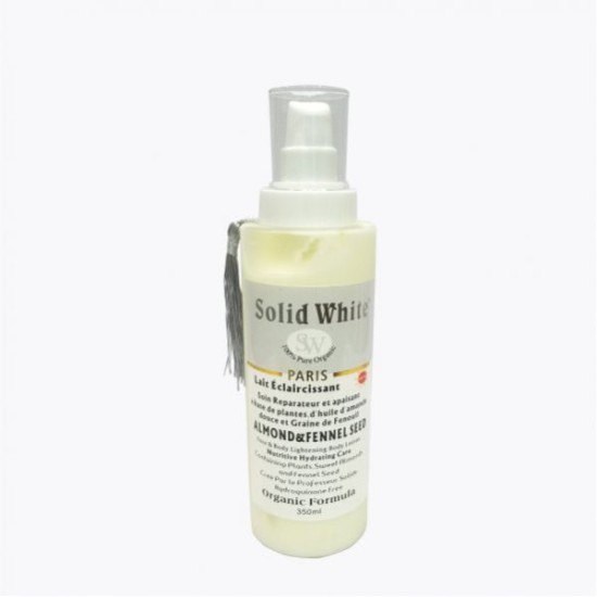 Solid White Body Lotion Almond & Fennel Seed 350ml