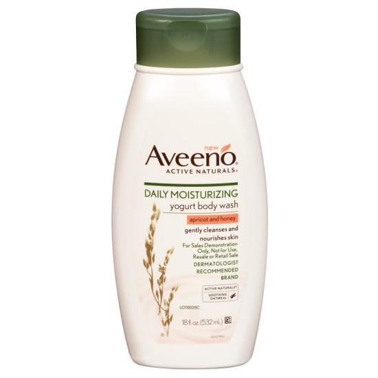 Aveeno Daily Moisturizing Yoghurt Body Wash - 354ml