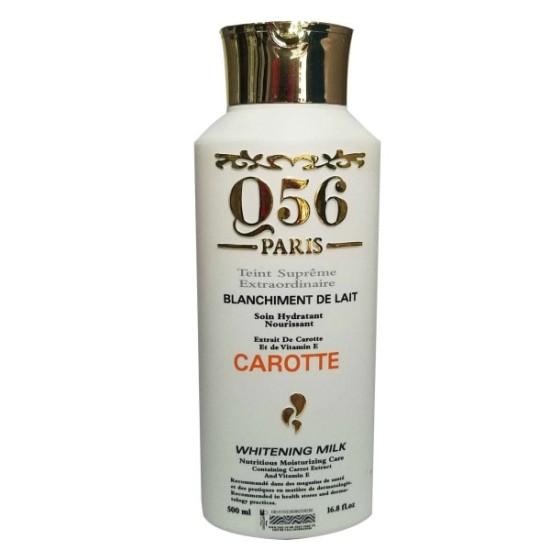 Q56 Paris whitening body lotion Carrot 16.8 Fl Oz/500ml