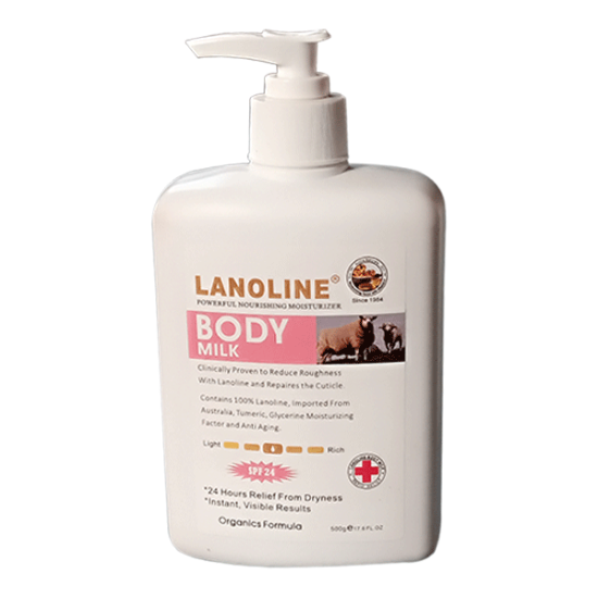 LANOLINE  POWERFUL NOURISHING MOISTURIZER  BODY MILK