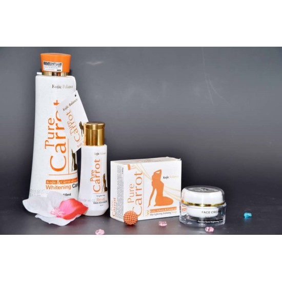 Pure Carrot Complete Set for Kojic And Carrot