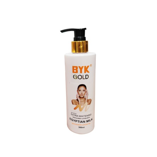 Byk Gold Extra Whitening Body Lotion Niacinamide & Argan Oil – 300ml
