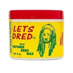 Lets Dred With Natures Bees Wax - 4oz