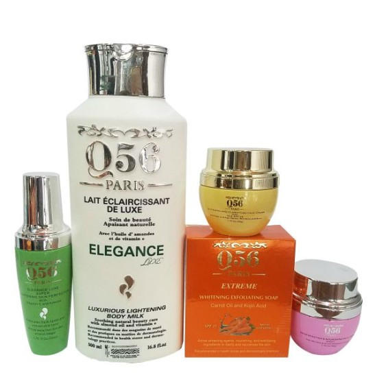 Q56Paris 5-in-1 elegance luxe skin lightening bundle