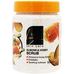 Bio Luxe Almond And Honey Scrub 500 ML