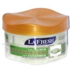 La Fresh Exfoliating Natural Cucumber Scrub