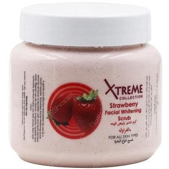 Xtreme Collection Strawberry Facial Whitening Scrub 500g