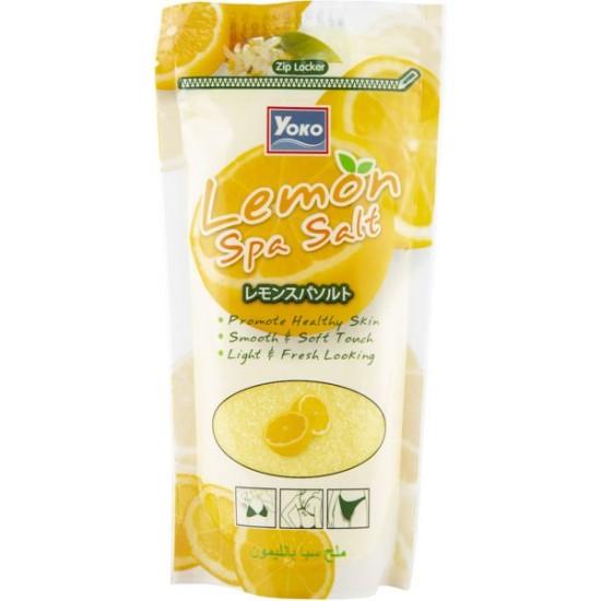 Yoko Lemon Spa Salt Body Scrub - 300 gm