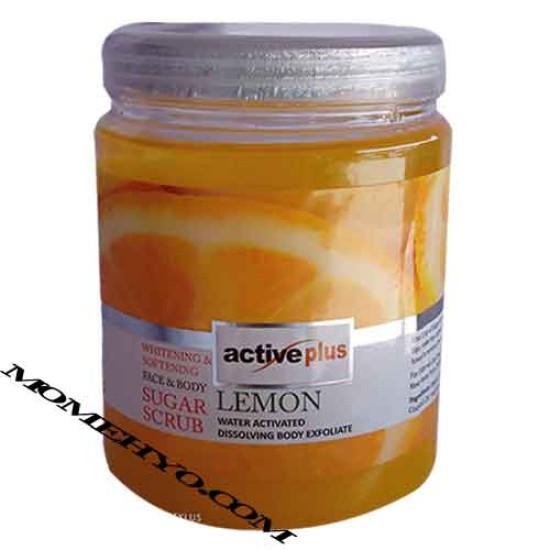 Active Plus Sugar Scrub Lemon