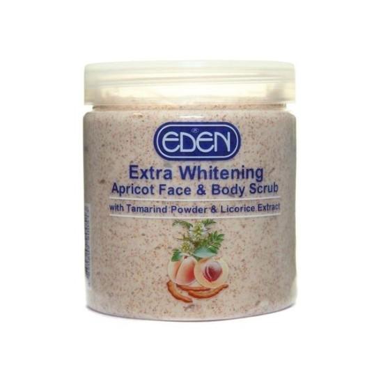 Eden Extra Whitening Apricot Face & Body Scrub