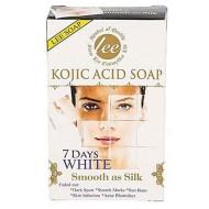 KOJIC ACID SOAP 7 DAYS WHITE SMOOTH AND SILK