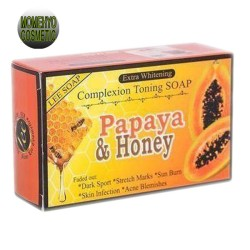 Papaya and Honey Complexion Toning  Soap