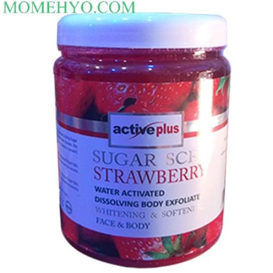 Activeplus Sugar Scrub Strawberry